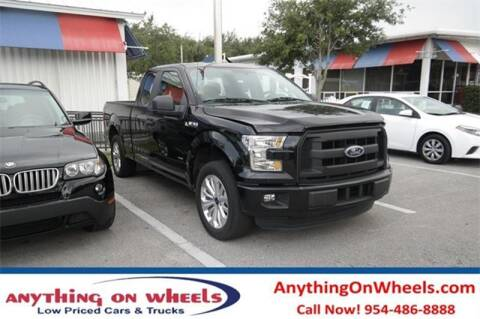 2016 Ford F-150 for sale at JumboAutoGroup.com - Anythingonwheels.com in Oakland Park FL