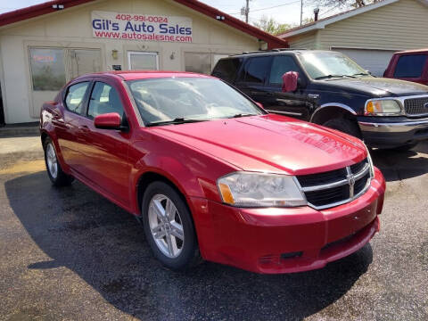 2010 Dodge Avenger for sale at Gil's Auto Sales in Omaha NE