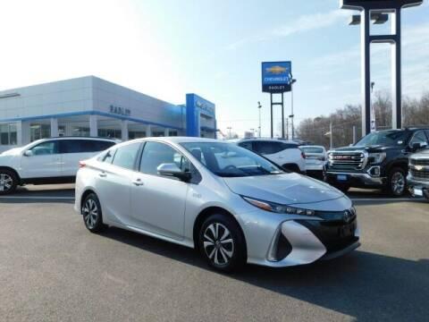 2017 Toyota Prius Prime for sale at Radley Cadillac in Fredericksburg VA
