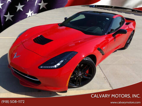 2014 Chevrolet Corvette for sale at Calvary Motors, Inc. in Bixby OK