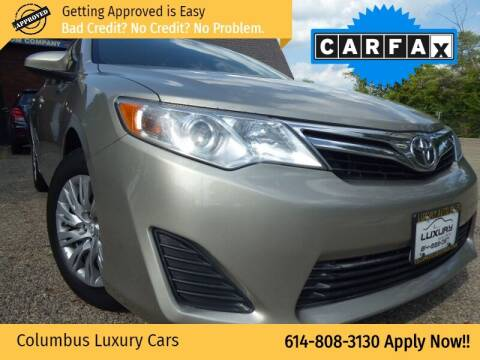 2014 Toyota Camry for sale at Columbus Luxury Cars in Columbus OH