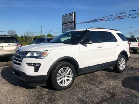 2018 Ford Explorer for sale at Premier Auto Sales Inc. in Big Rapids MI