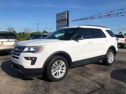 2018 Ford Explorer for sale at Premier Auto Sales Inc. in Big Rapids MI