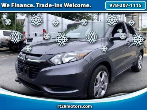 2018 Honda HR-V for sale at RT28 Motors in North Reading MA