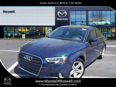 2018 Audi A3 for sale at Mazda Of Roswell in Roswell GA
