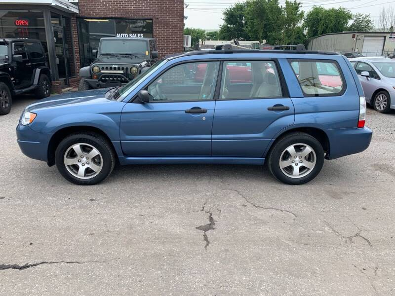 2007 Subaru Forester for sale at Ride One Auto Sales in Norfolk VA