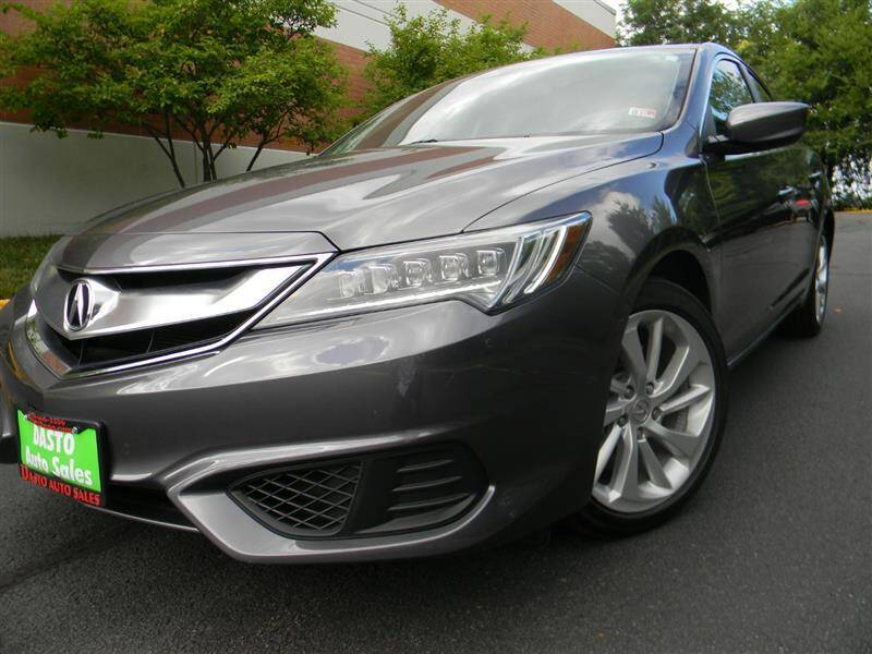 2017 Acura ILX for sale at Dasto Auto Sales in Manassas VA