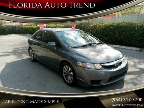 2009 Honda Civic for sale at Florida Auto Trend in Plantation FL