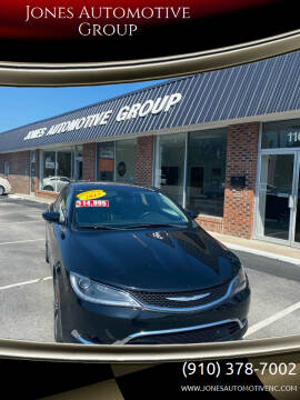 2015 Chrysler 200 for sale at Jones Automotive Group in Jacksonville NC