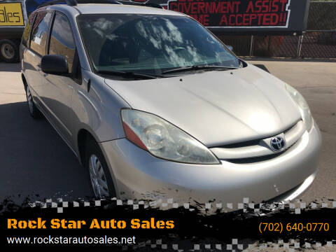 2008 Toyota Sienna for sale at Rock Star Auto Sales in Las Vegas NV