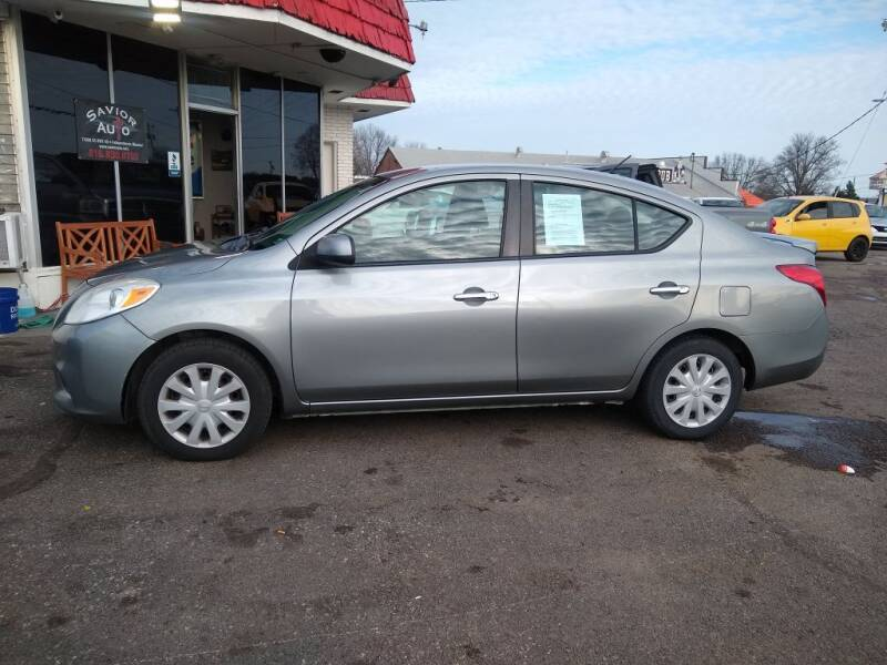 2013 Nissan Versa for sale at Savior Auto in Independence MO