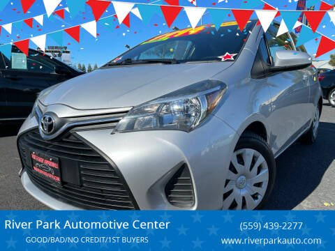 2016 Toyota Yaris for sale at River Park Automotive Center in Fresno CA
