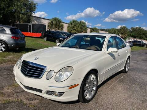 2008 Mercedes-Benz E-Class for sale at Top Garage Commercial LLC in Ocoee FL