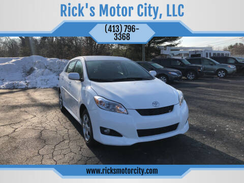 2010 Toyota Matrix for sale at Rick's Motor City, LLC in Springfield MA