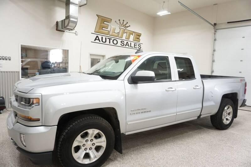 2018 Chevrolet Silverado 1500 for sale at Elite Auto Sales in Ammon ID