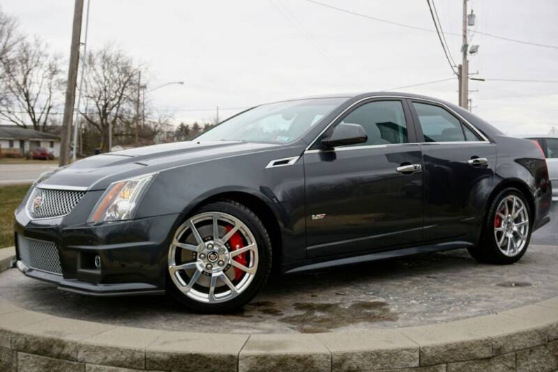 2014 Cadillac CTS-V for sale at Platinum Motors LLC in Heath OH