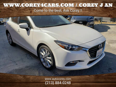 2017 Mazda MAZDA3 for sale at WWW.COREY4CARS.COM / COREY J AN in Los Angeles CA