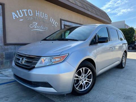 2011 Honda Odyssey for sale at Auto Hub, Inc. in Anaheim CA