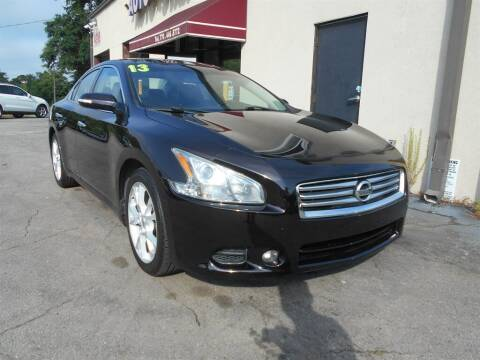 2013 Nissan Maxima for sale at AutoStar Norcross in Norcross GA