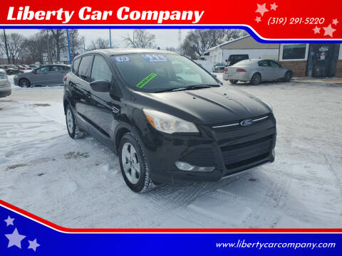 2013 Ford Escape for sale at Liberty Car Company in Waterloo IA