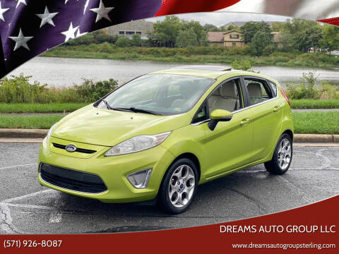 2012 Ford Fiesta for sale at Dreams Auto Group LLC in Sterling VA