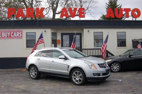 2010 Cadillac SRX for sale at Park Ave Auto Inc. in Worcester MA