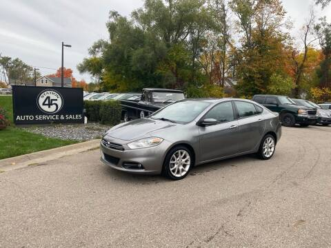 2013 Dodge Dart for sale at Station 45 Auto Sales Inc in Allendale MI