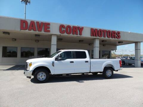 2017 Ford F-250 Super Duty for sale at DAVE CORY MOTORS in Houston TX