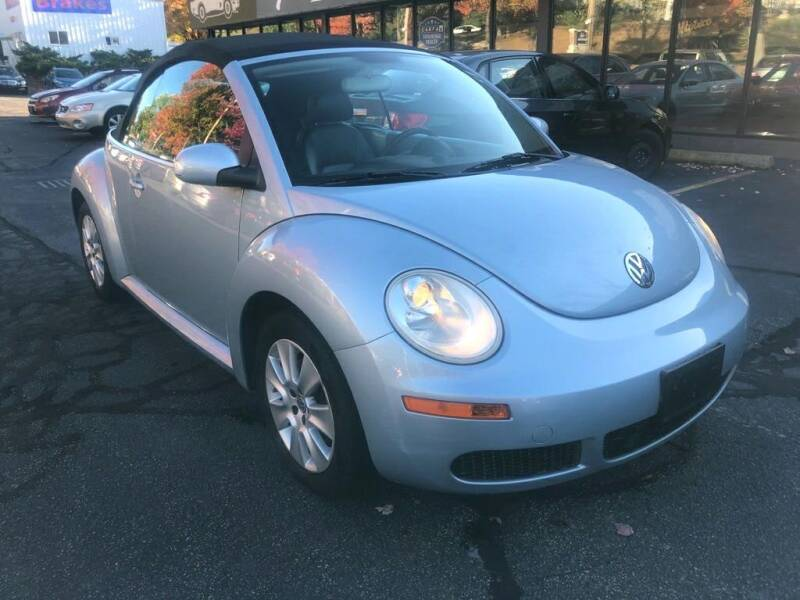 2009 Volkswagen New Beetle Convertible for sale at Premier Automart in Milford MA