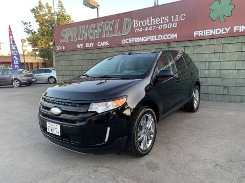 2011 Ford Edge for sale at SPRINGFIELD BROTHERS LLC in Fullerton CA