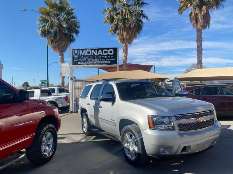 2010 Chevrolet Tahoe for sale at Monaco Auto Center LLC in El Paso TX
