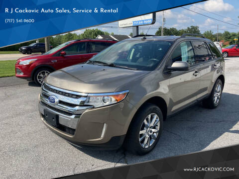 2012 Ford Edge for sale at R J Cackovic Auto Sales, Service & Rental in Harrisburg PA