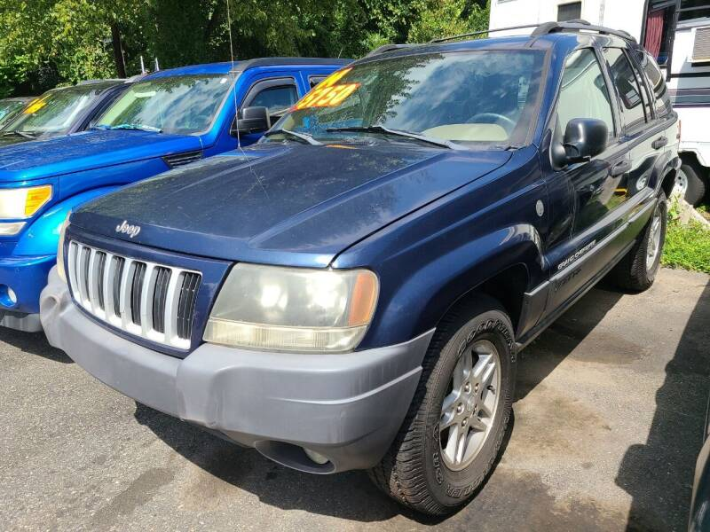 2004 Jeep Grand Cherokee for sale at Budget Auto Sales & Services in Havre De Grace MD