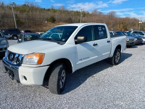 2012 Nissan Titan for sale at Bailey's Auto Sales in Cloverdale VA