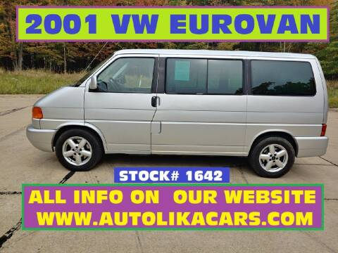 2001 Volkswagen EuroVan for sale at Autolika Cars LLC in North Royalton OH