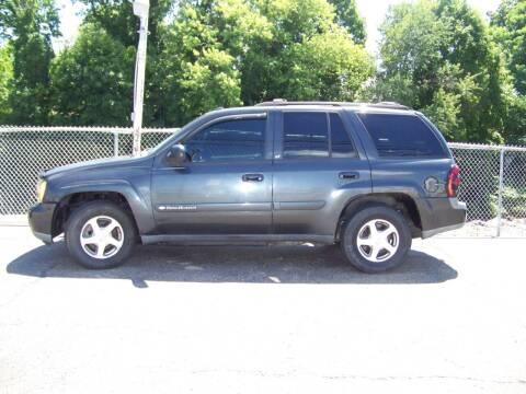 2004 Chevrolet TrailBlazer for sale at Collector Car Co in Zanesville OH
