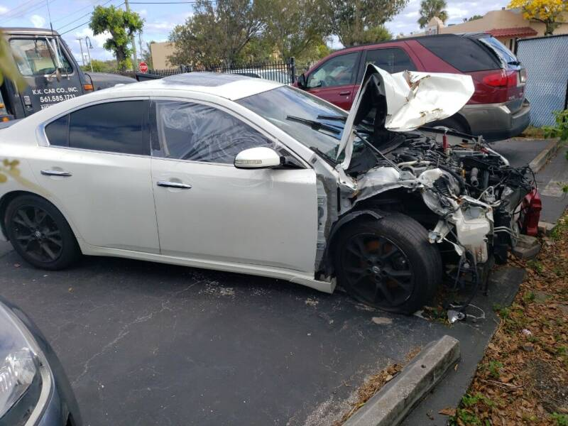 2013 Nissan Maxima for sale at KK Car Co Inc in Lake Worth FL