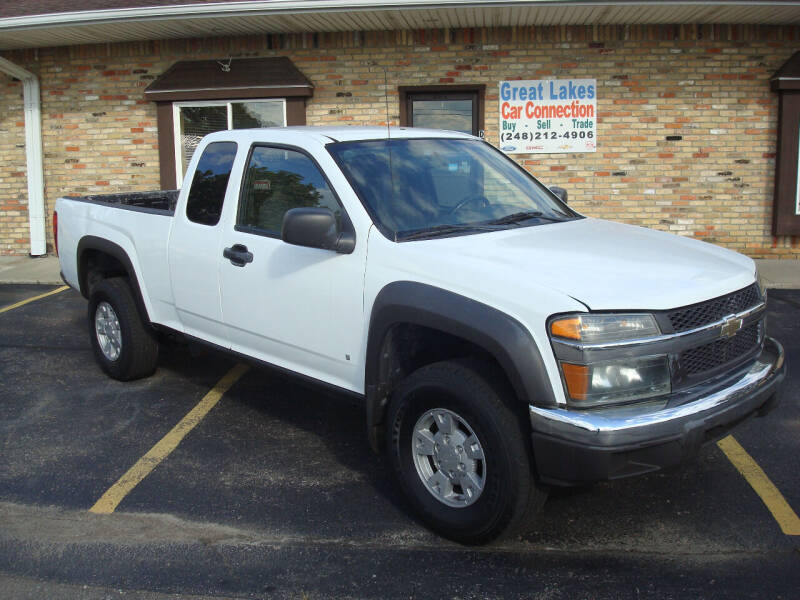 2006 Chevrolet Colorado for sale at Great Lakes Car Connection in Metamora MI