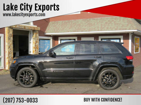 2018 Jeep Grand Cherokee for sale at Lake City Exports in Auburn ME