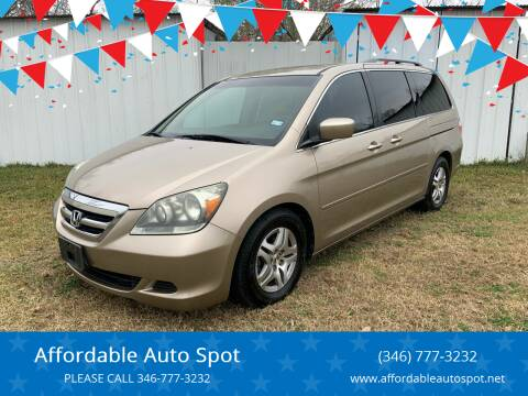 2005 Honda Odyssey for sale at Affordable Auto Spot in Houston TX