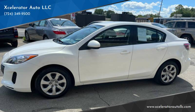 2012 Mazda MAZDA3 for sale at Xcelerator Auto LLC in Indiana PA