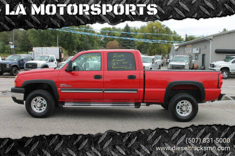 2007 Chevrolet Silverado 2500HD Classic for sale at LA MOTORSPORTS in Windom MN