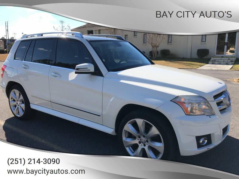 2010 Mercedes-Benz GLK for sale at Bay City Auto's in Mobile AL