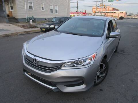 2016 Honda Accord for sale at Dina Auto Sales in Paterson NJ