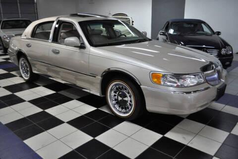 2002 Lincoln Town Car for sale at Podium Auto Sales Inc in Pompano Beach FL