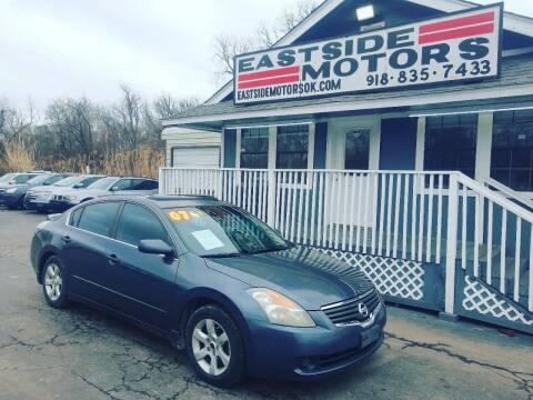 2007 Nissan Altima for sale at EASTSIDE MOTORS in Tulsa OK
