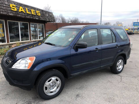 2004 Honda CR-V for sale at BELL AUTO & TRUCK SALES in Fort Wayne IN