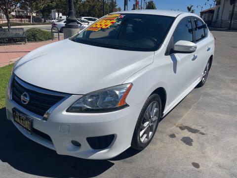 2015 Nissan Sentra for sale at Soledad Auto Sales in Soledad CA