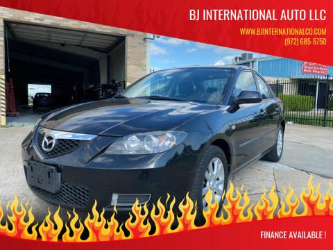 2008 Mazda MAZDA3 for sale at BJ International Auto LLC in Dallas TX
