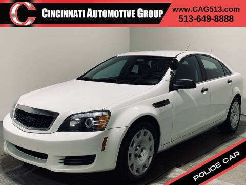 2014 Chevrolet Caprice for sale at Cincinnati Automotive Group in Lebanon OH